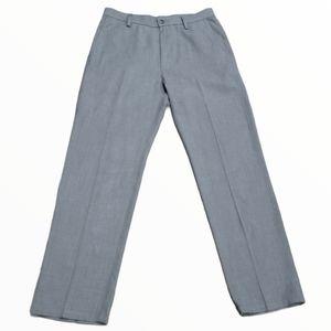 Men's Grey dress pants 32x32 Haggar